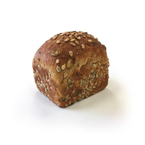 Chléb celozrnný se slunečnicí