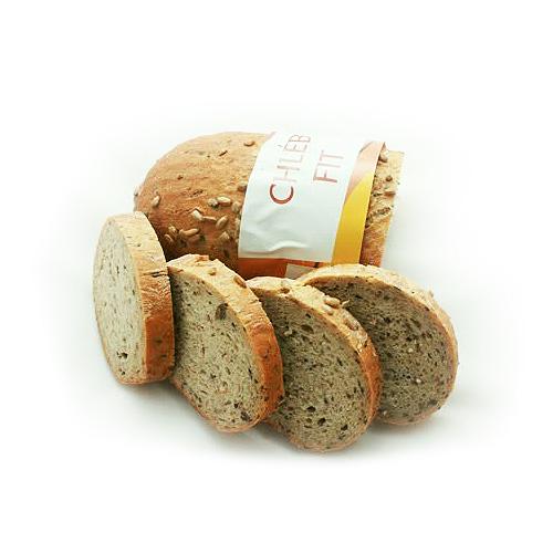Chléb Fit se slunečnicovými semínky
