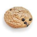 Dawn cookie s vločkami a brusinkami